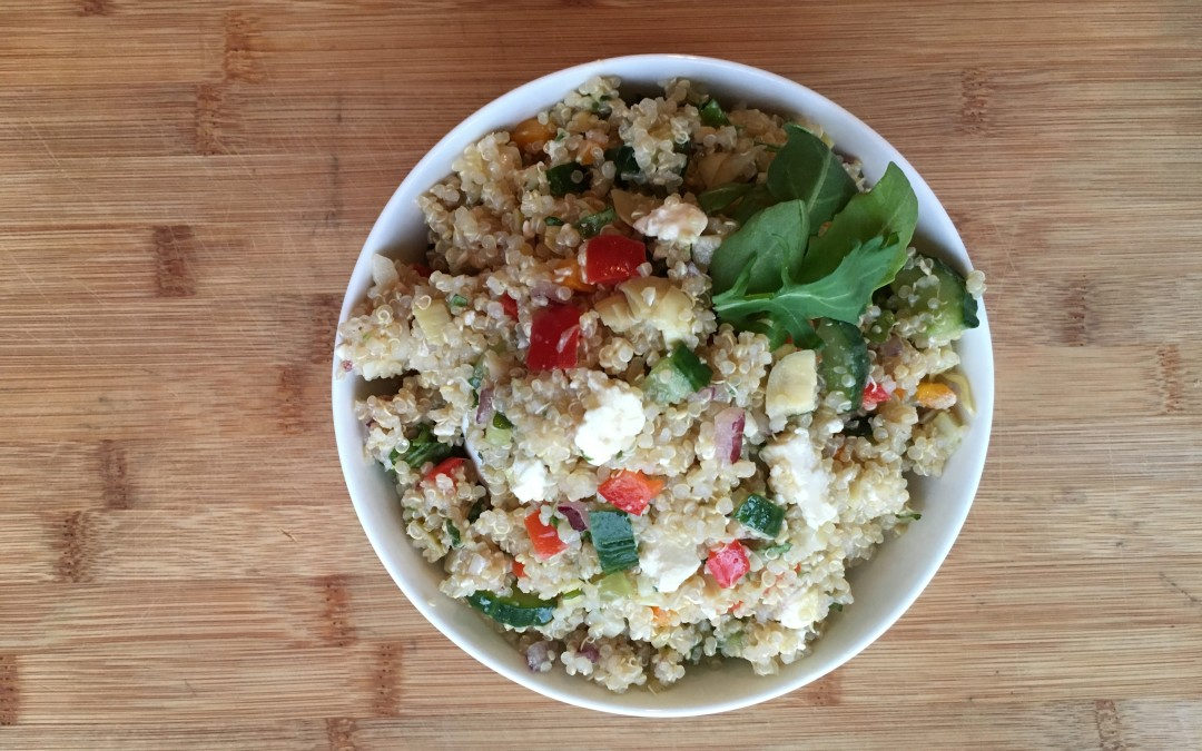 Fresh and Healthy Quinoa Salad