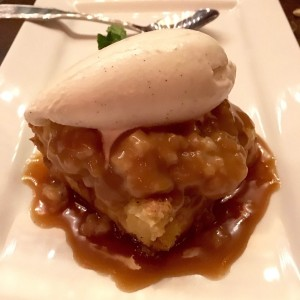 Barley and Vine-Whiskey Caramel Bread Pudding-MaK and Cheese
