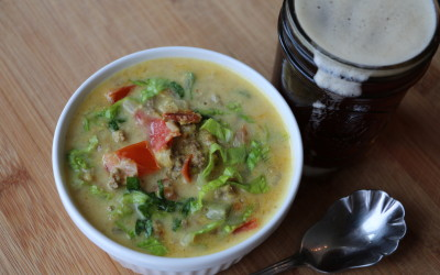 MaK's Bacon Cheeseburger Soup